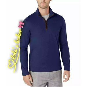 Tasso Elba 1/4 Mock Neck Zip Sweater